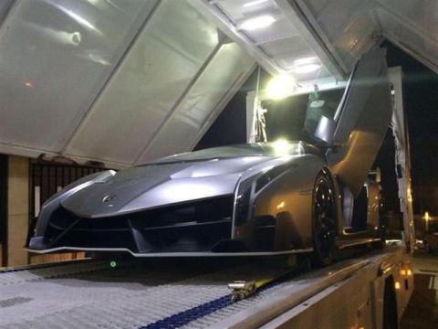 Lamborghini Veneno morro