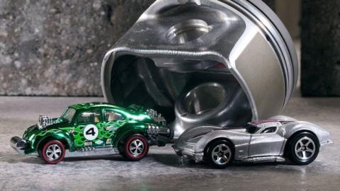 Un juguete de Hot Wheels se convierte en un coche de verdad