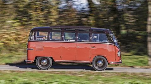 VW Bulli, una furgoneta digna de exposición