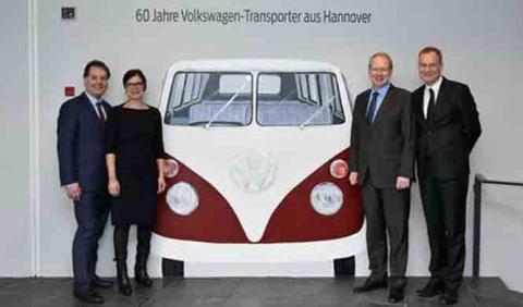 VW celebra el 60 aniversario de la Transporter
