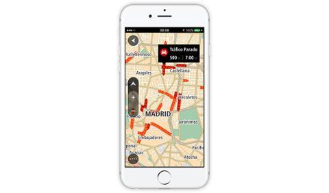 GO Mobile app iPhone TomTom