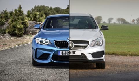 Vídeo: BMW M2 vs Mercedes-AMG CLA 45, ¿cuál es más rápido?