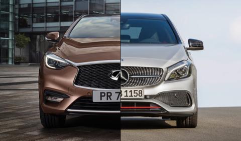 ¿Cuál es mejor, el Infiniti Q30 o el Mercedes Clase A?