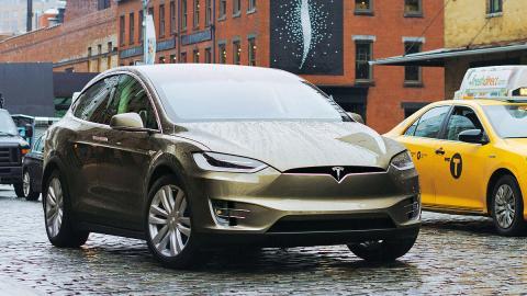 Prueba: Tesla Model X P90D 2016
