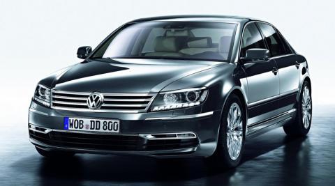 Así es es el último VW Phaeton de la historia