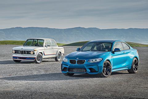 Duelo de ayer y hoy: BMW M2 vs BMW 2002 turbo