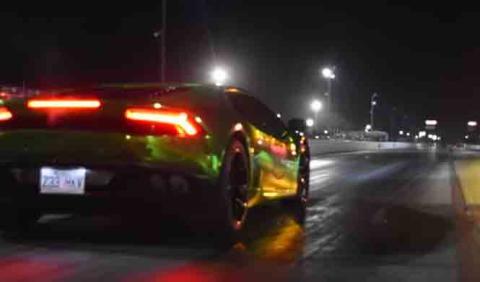 Vídeo: este Lamborghini Huracan da miedo