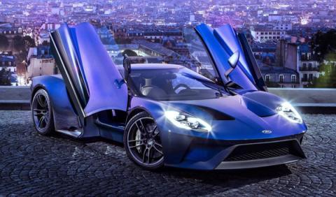 Mejores colores de Ford Azul Líquido