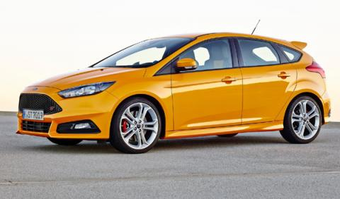 Mejores colores de Ford: Amarillo Sport