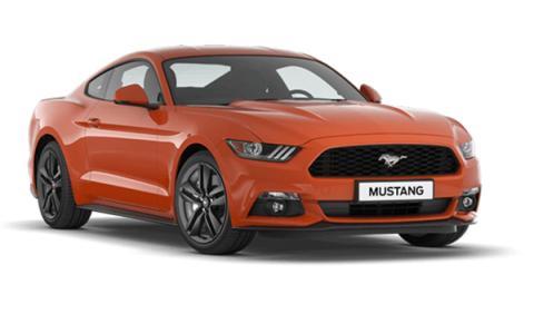 Mejores colores de Ford: Naranja Competición