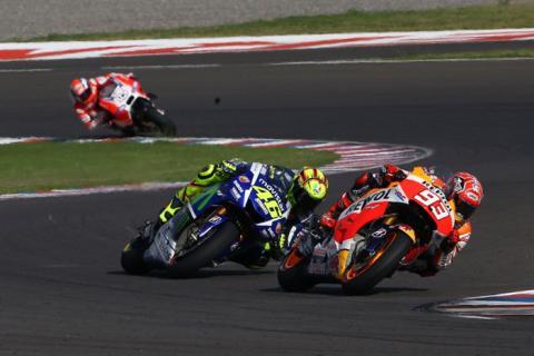 Los horarios de MotoGP, Argentina 2016