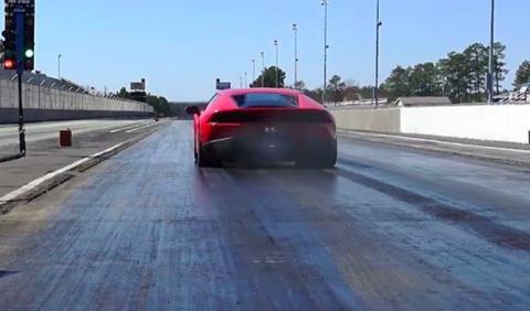 ¡De infarto! Nuevo récord del Lamborghini Huracán