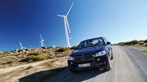 BMW-X5-eDrive-tres-cuartos-delantera