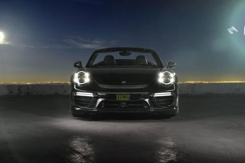 Porsche 911 Carrera y Turbo by Techart morro