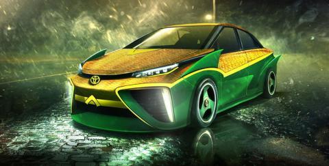 El Toyota Quirai de Aquaman