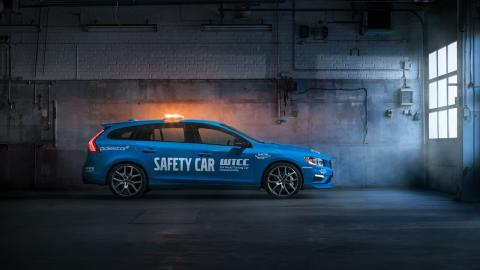 Volvo V60 Polestar Safety Car del WTCC lateral
