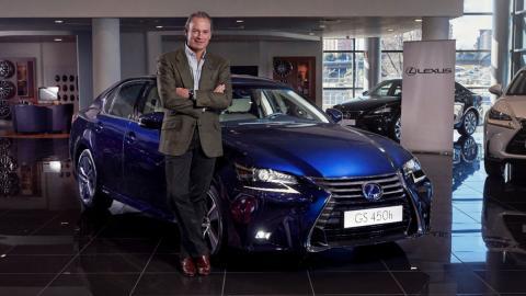 El nuevo Lexus GS 450h de Bertín Osborne