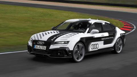 Audi RS 7 autónomo en Ascari