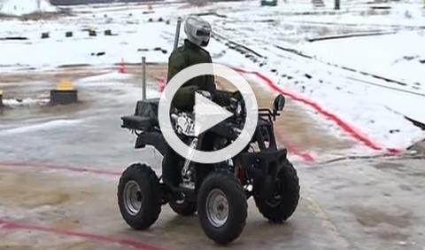 Este es el quad autónomo ruso que ha decepcionado a Putin