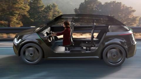 Japón prueba un coche autónomo ideado para personas mayores