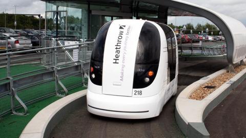 Los primeros coches autónomos de Londres serán cápsulas