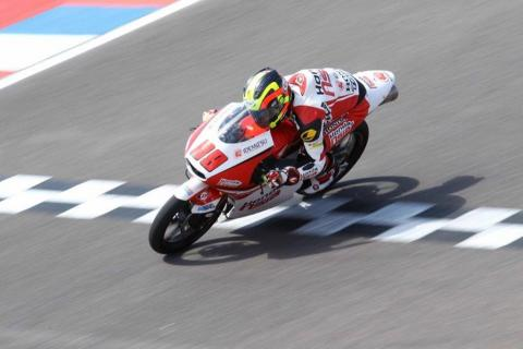 Carrera Moto3 Argentina 2016: Pawi hace historia