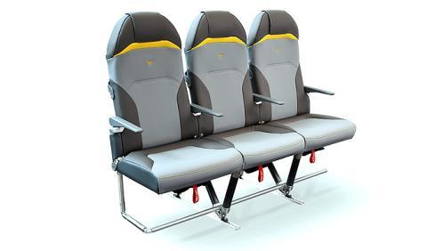 Estos asientos de avión Peugeot pesan menos que un portátil
