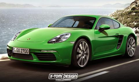 Recreación Porsche 718 Cayman S