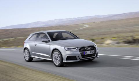 Nuevo Audi A3 2016 tres cuartos delanteros