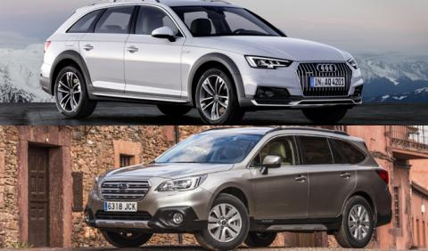 ¿Cuál es mejor, Audi A4 allroad 2016 o Subaru Outback?