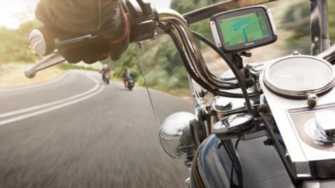 tomtom rider 410 instalado