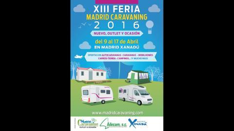 'Madrid Caravaning Xanadú', la feria dedicada a la caravana