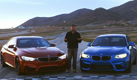 Vídeo: BMW M2 vs. BMW M4, ¡por fin frente a frente!