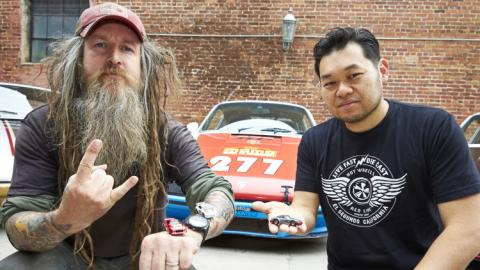 Porsche de Hot Wheels a Magnus Walker
