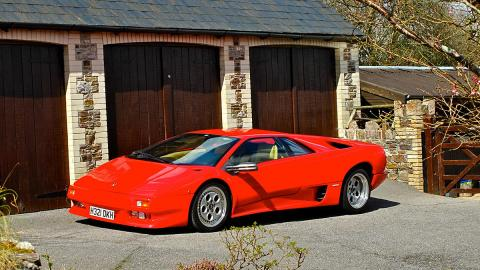 Lamborghini Diablo de 1990 a subasta, en fotos