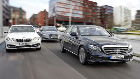 Comparativa: Mercedes Clase E / Audi A6 / BMW Serie 5