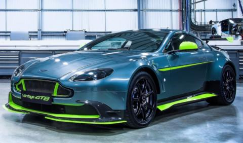 Aston Martin Vantage GT8: el chico malo de Gaydon