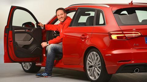 Nos subimos al Audi A3 2016