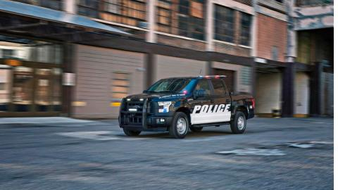ford f-150 special services policia
