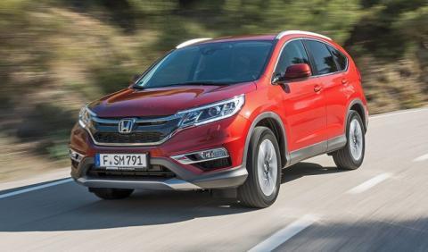 Honda CR-V 2018: cazado en fase de pruebas