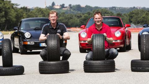 ruedas para clásicos Porsche