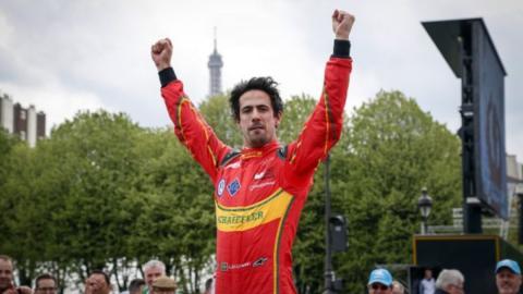 Fórmula E 2016, París: Lucas di Grassi no da opción