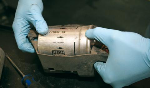 cambio filtro combustible