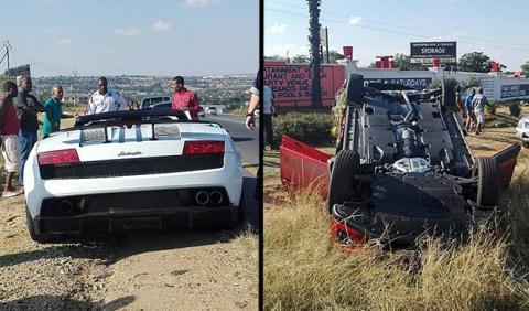 Accidente Gallardo y CX-5