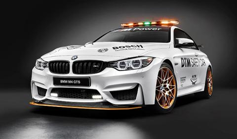 El BMW M4 GTS, Safety Car del DTM 2016