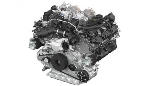 Los secretos del nuevo motor V8 biturbo de Porsche