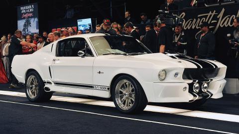 Los 10 Ford Mustang más caros de la historia, en fotos
