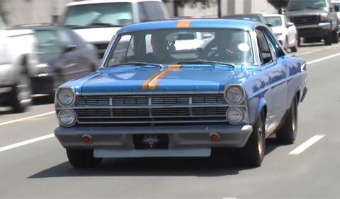 Vídeo: un Ford Fairlane de 1967 con aerodinámica activa