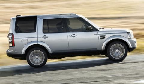 coches maleteros más grandes Land Rover Discovery