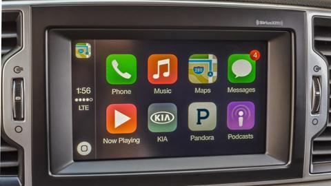 Apple CarPlay: el compañero de viaje de los nuevos Kia
